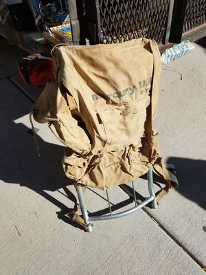 Backpack. Aluminum frame backpack. Multiple pockets. Hunting. Fishing. Hiking. Overnight backpack. for Sale in Glendale, AZ