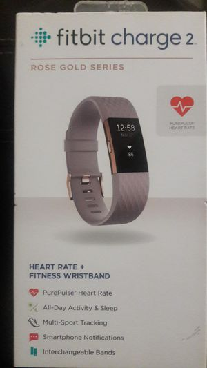 Fitbit charge 2 rose gold series for Sale in Cary, NC
