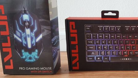 GAMING KEYBOARD & MOUSE (NEW) for Sale in Ontario,  CA