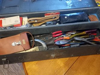 vintage Electricians Tools And Box for Sale in Pawtucket,  RI