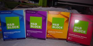 HR Block Family of Tax Software for Sale in Sacramento, CA