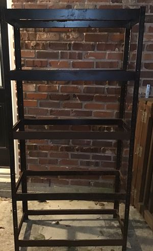 """Metal Shelf Frame 6 Ft. x 3 Ft. x 18"""" Garage, House Storage DIY Project for Sale in Houston, TX"""