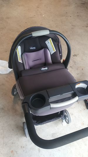Stroller and baby car seat..carreola y porta bebe for Sale in Duncanville, TX