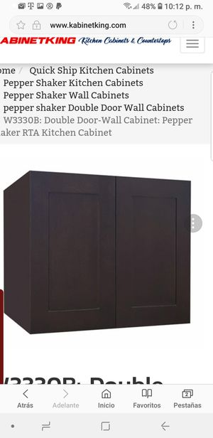 4 new kitchen cabinets pepper shake color in a box for Sale in Dunedin, FL