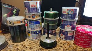 Blank CDs and DVDs for your recording needs for Sale in Bothell, WA
