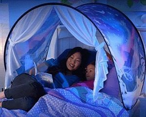 NEW $10 each DreamTents fun pop up tent space adventure or winter wonderland twin or bunk bed for Sale in Whittier, CA