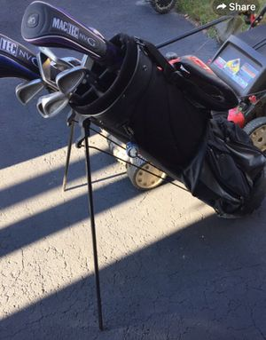 Golf clubs and bag for Sale in Galena, OH