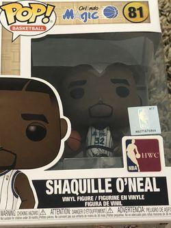 Shaquille O'Neal Funko Pop! NBA Hardwood Classics - Orlando Magic for Sale in Pompano Beach,  FL