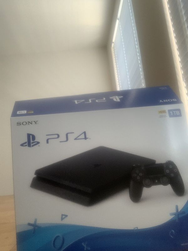 Brand new 1TB Ps4 for sale