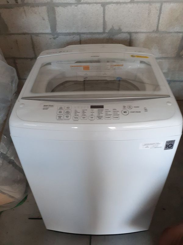 Brand new Washer and Dryer w/ Steam