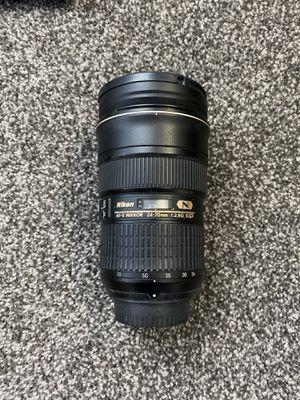Nikon AF-S Nikkor 24-70mm for Sale in Centreville, VA