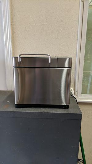 Kbs Pro Stainless Steel Bread Machine, 2LB 17-in-1 Programmable XL Bread Maker for Sale in Houston, TX