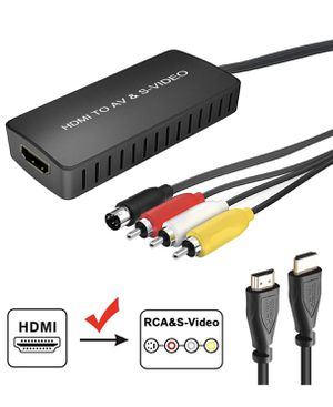 HDMI to S-Video Converter for Sale in Princeton, IN