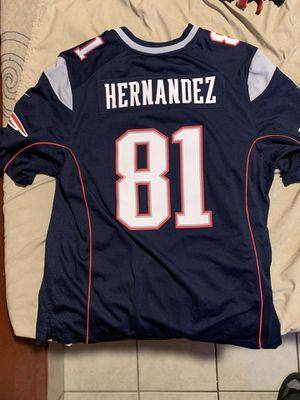 Aaron Hernandez patriots jersey for Sale in Anaheim, CA