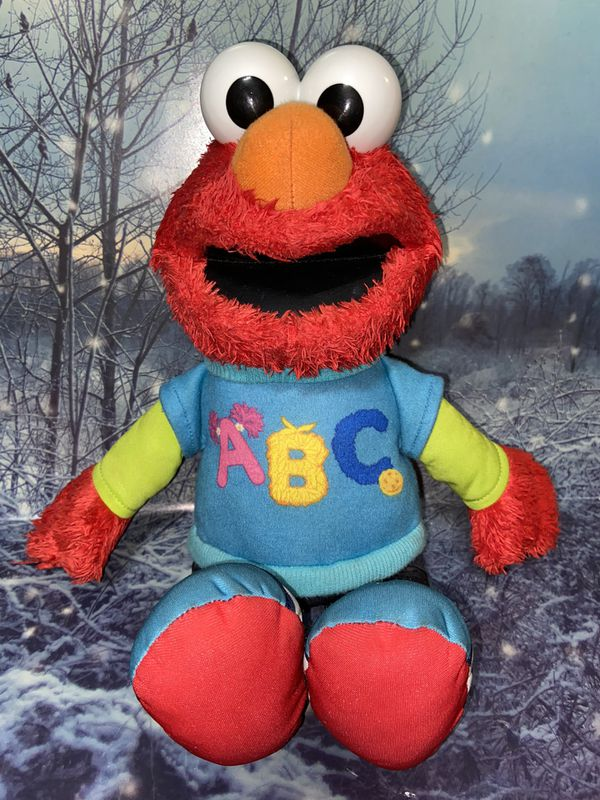 "Sesame Street Talking ABC Elmo 14"" plush"