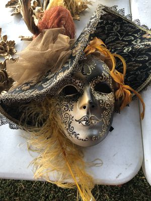 Large elegant hand painted Mask from Italy for Sale in Huntington Beach, CA