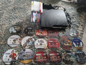 PS3 CONSOLE & GAMES 25 games for Sale in Independence, MO