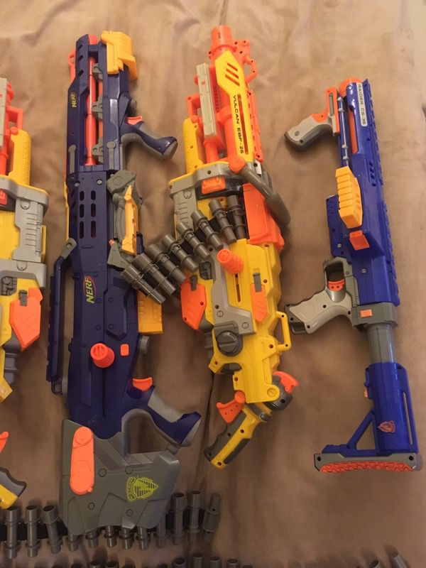 Awesome Giant Nerf Guns-- pending pick up