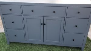 Gorgeous gray dresser/ credenza/ TV stand for Sale in Phoenix, AZ