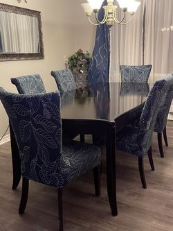 Dark Brown Dining Table With Chairs for Sale in San Diego,  CA