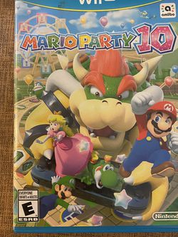 Mario Party 10 Wii U for Sale in Kissimmee,  FL