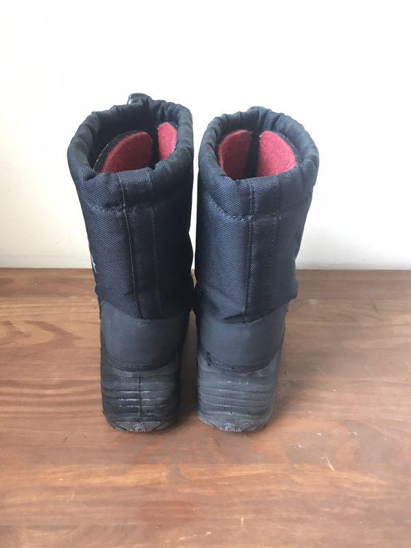 Kids Weatherproof Winter Boots - Size 12M