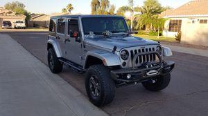 2016 jeep wrangler Rubicon 75 anniversary for Sale in Phoenix, AZ
