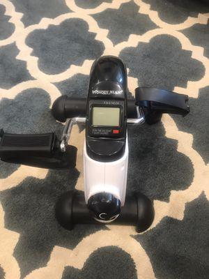 Under desk mini bicycle workout machine for Sale in Goleta, CA