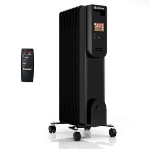 1500W Electric Oil Filled Heater LCD 7-Fin Timer w/ Remote Control for Sale in Los Angeles, CA
