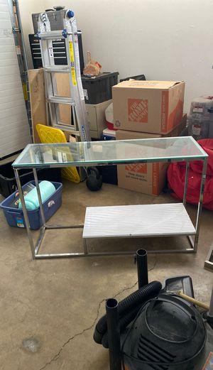 Silver Console Table for Sale in Huntington Beach, CA