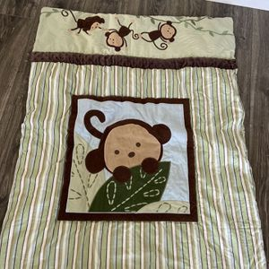 Monkey Baby Bedding Nursery Set for Sale in Rancho Santa Margarita, CA