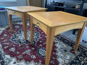 Coffee table and two end tables for Sale in Peoria, IL