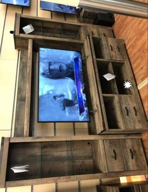 NEW ASHLEY 🔖 Trinell Brown LG TV Stand for Sale in Jessup, MD