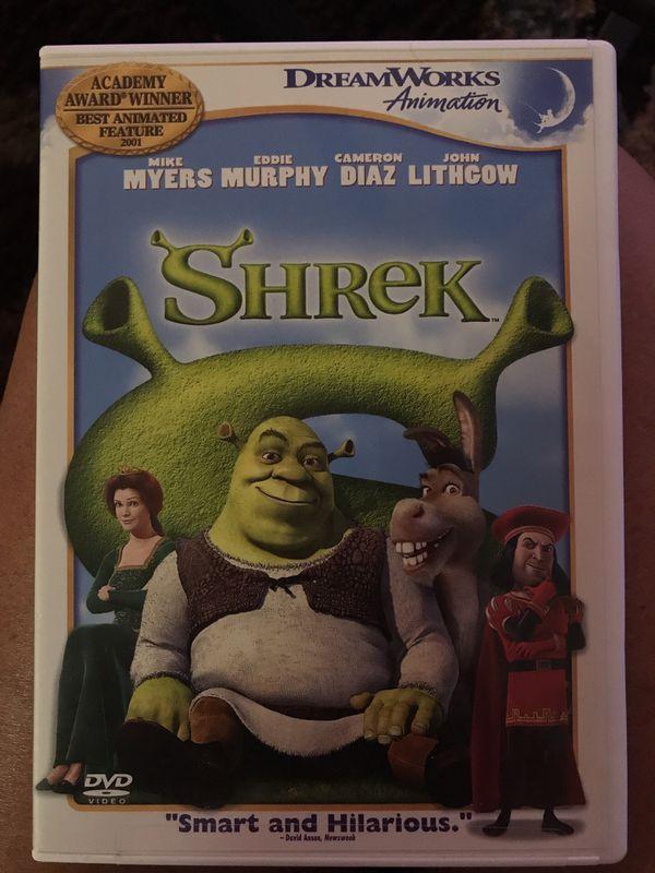 Shrek dvd, like new