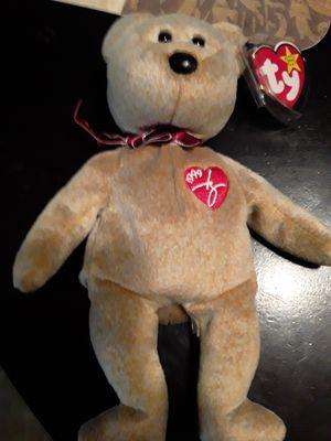 Ty beanie baby bear 1999 signiture bear for Sale in Wayne, MI
