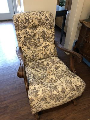 Two identical old solid rockers for Sale in Corbett, OR
