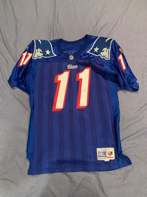 Patriots Bledsoe jersey size 46 for Sale in Philadelphia, PA