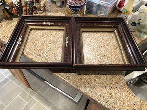 Two antique shadow box frames for Sale in Hamilton, VA