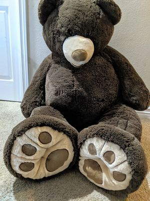 Giant Brown Teddy Bear Kids Decoration for Sale in San Dimas, CA