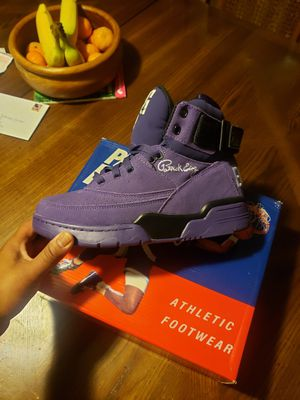 Ewings purple suede size 8.5 for Sale in Temple, PA