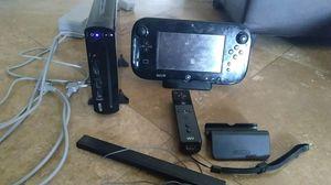 Nintendo Wii U black 32Gb for Sale in Chandler, AZ