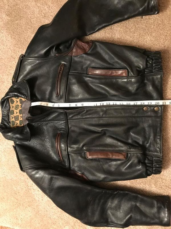 Vintage leather jacket - perfect for costume!