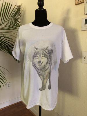 WOLF GRAPHICS DOUBLE SIDED LARGE for Sale in Sarasota, FL