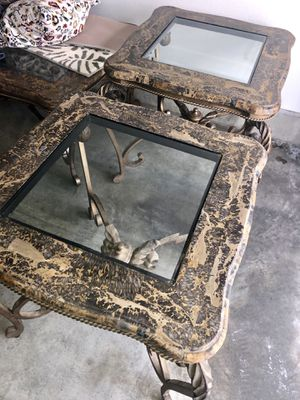 Marble Living Room Table Set of 4 for Sale in San Diego, CA