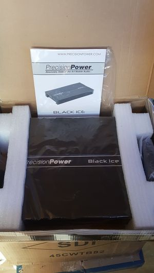 Precision Power BA1300.1D 650W RMS at 1 Ohm Class D Mono Subwoofer Amplifier 1300W Max for Sale in Santa Ana, CA