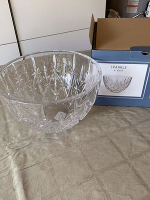 New Marquis by Waterford 9inch Sparkle Bowl. for Sale in Bellevue, WA
