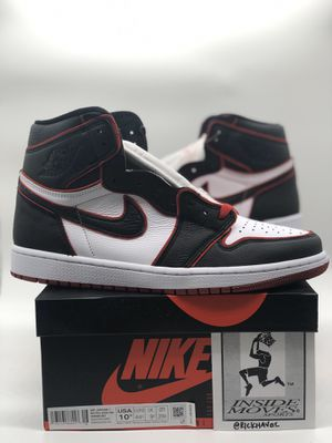 "Air Jordan 1 High Retro OG ""Bloodline"" - Sz 10.5 for Sale in Covina, CA"