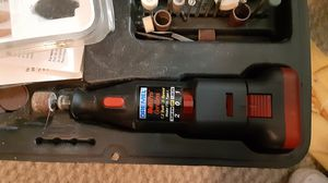 Cordless Multipro 7700 Dremel with extra Tips for Sale in Marietta, GA