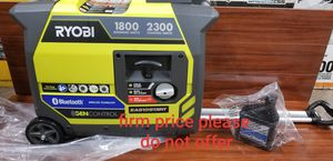 RYOBI Bluetooth 2,300-Watt Quiet Gasoline Powered Digital Inverter Generator(I don't have the box, please, look at the picture) for Sale in UPR MARLBORO, MD
