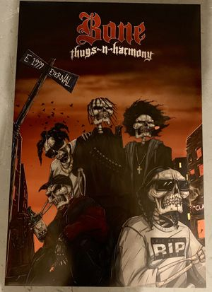 Custom Printed Bone Thugs N Harmony Poster 24x36 for Sale in Coral Springs, FL